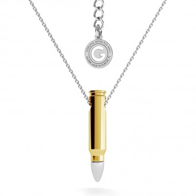 NECKLACE WITH BULLET