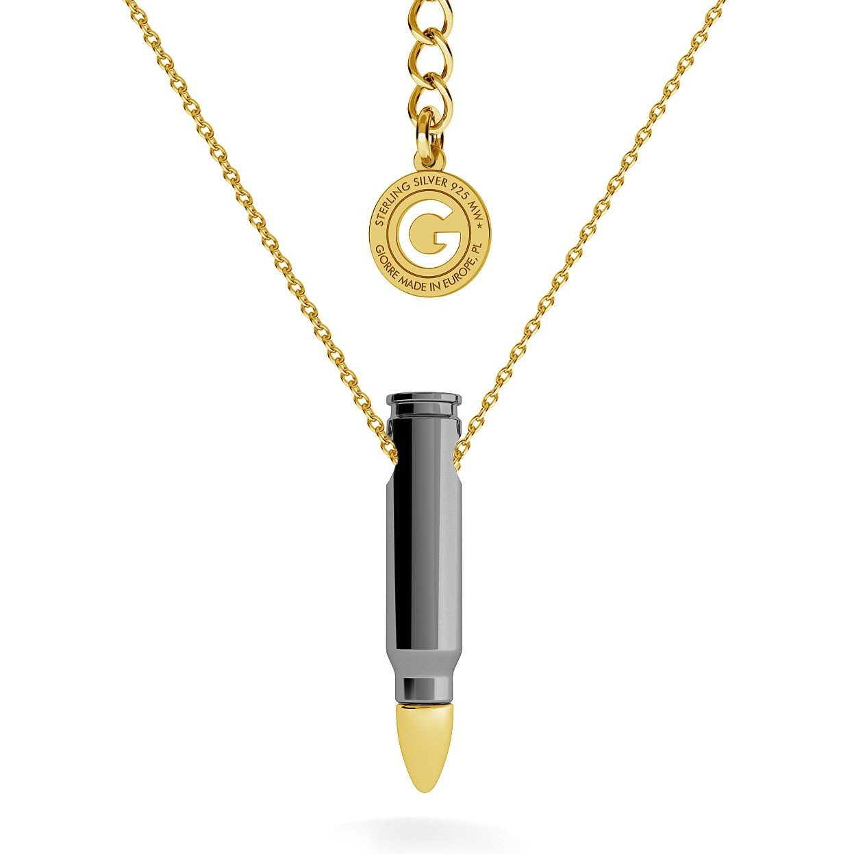 NECKLACE WITH BULLET - MODEL 2