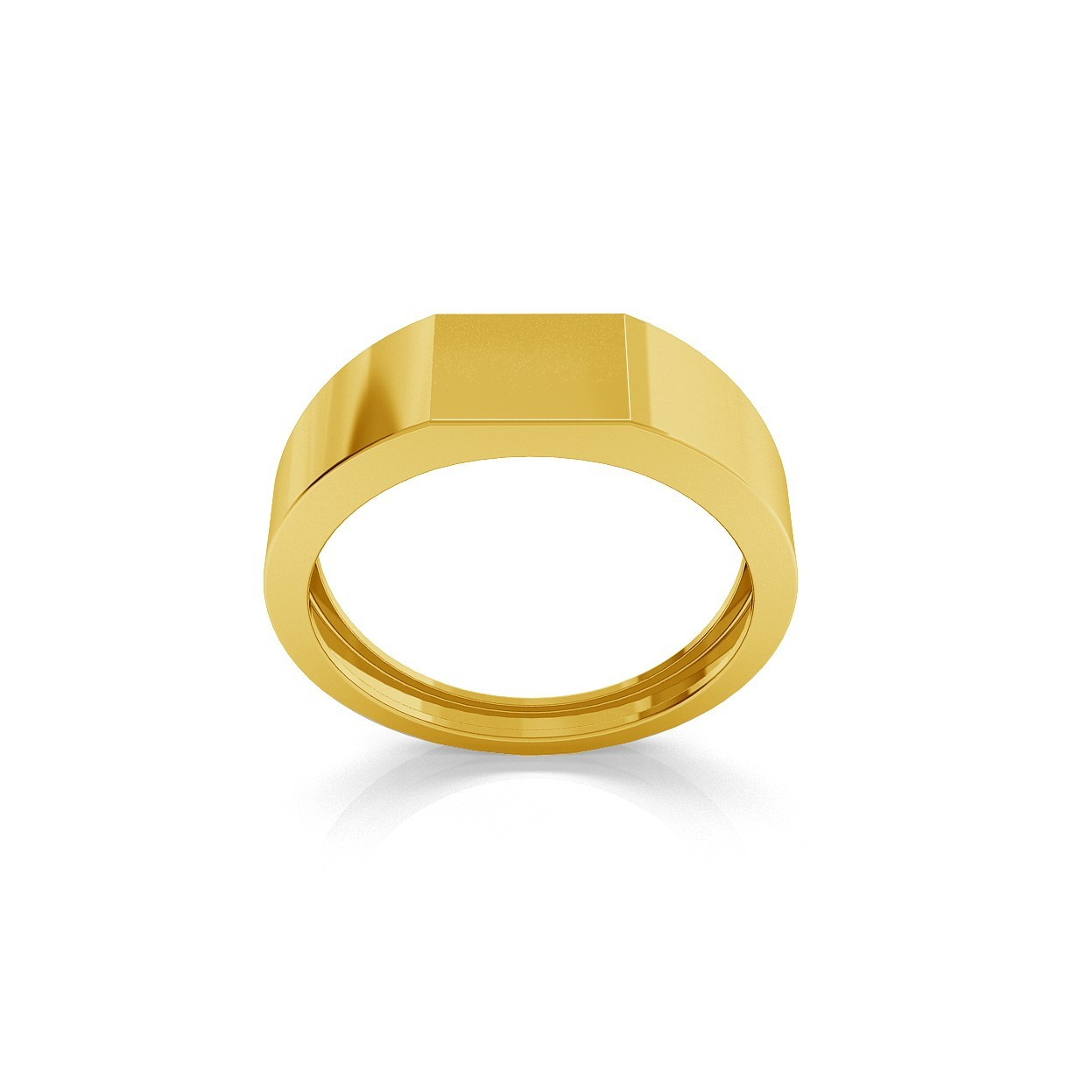 MALE SIGNET, RING, ENGRAVED