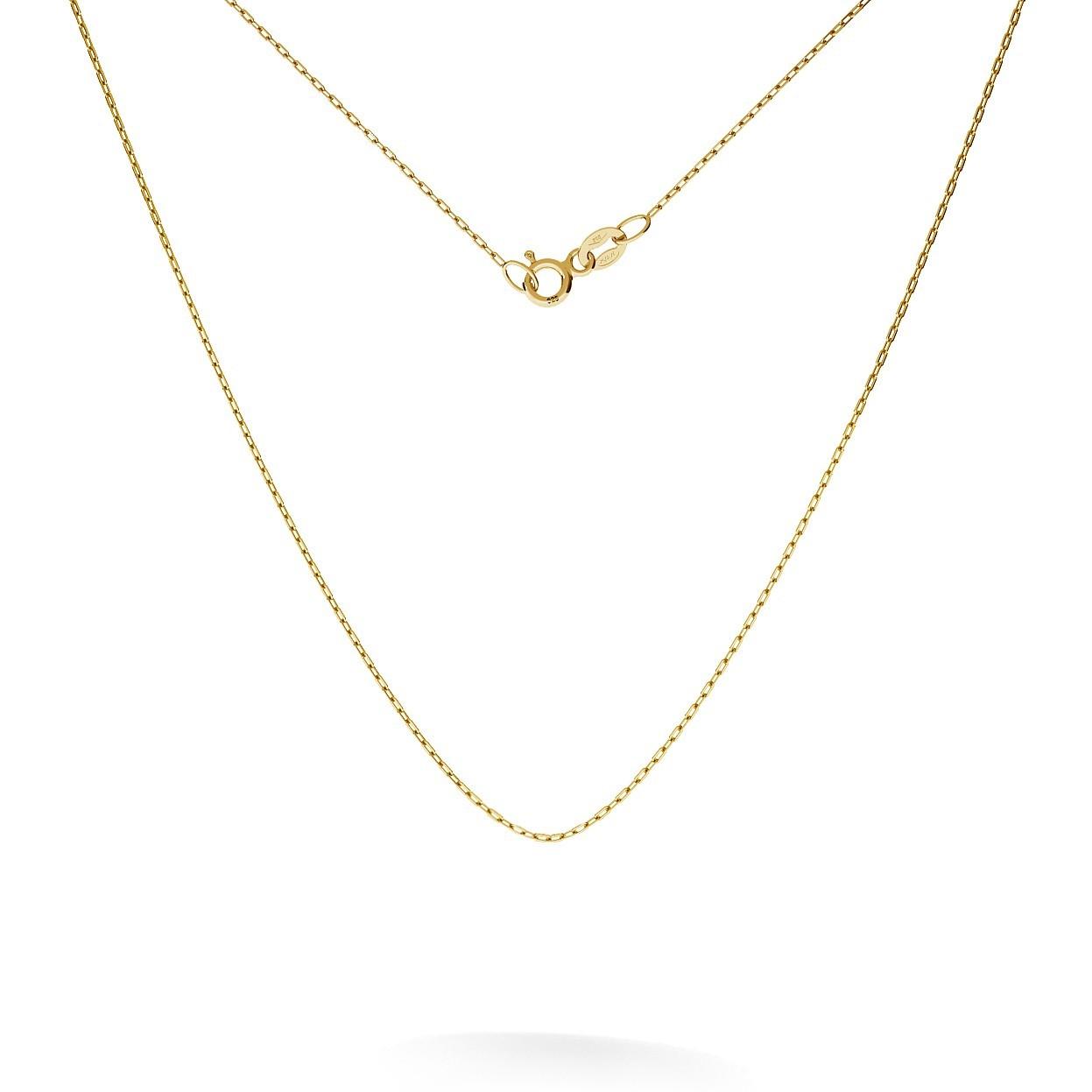 Oro catene forzatina 45 cm, 585