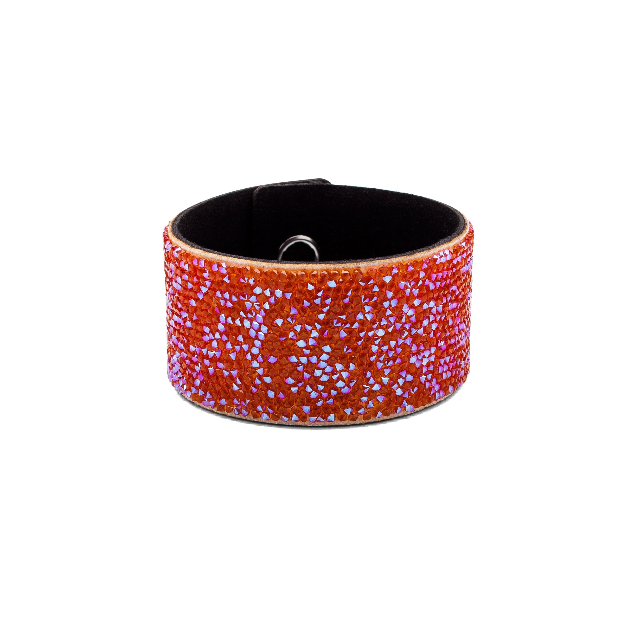 BRACELET WITH ALCANTARA AND SWAROVSKI CRY FINE ROCKS – MODEL 17