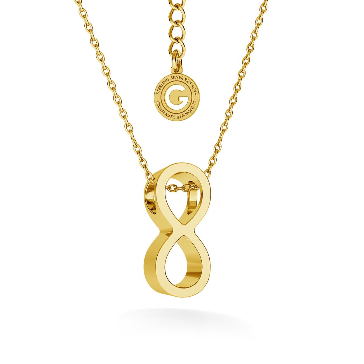 Infinity sign necklace