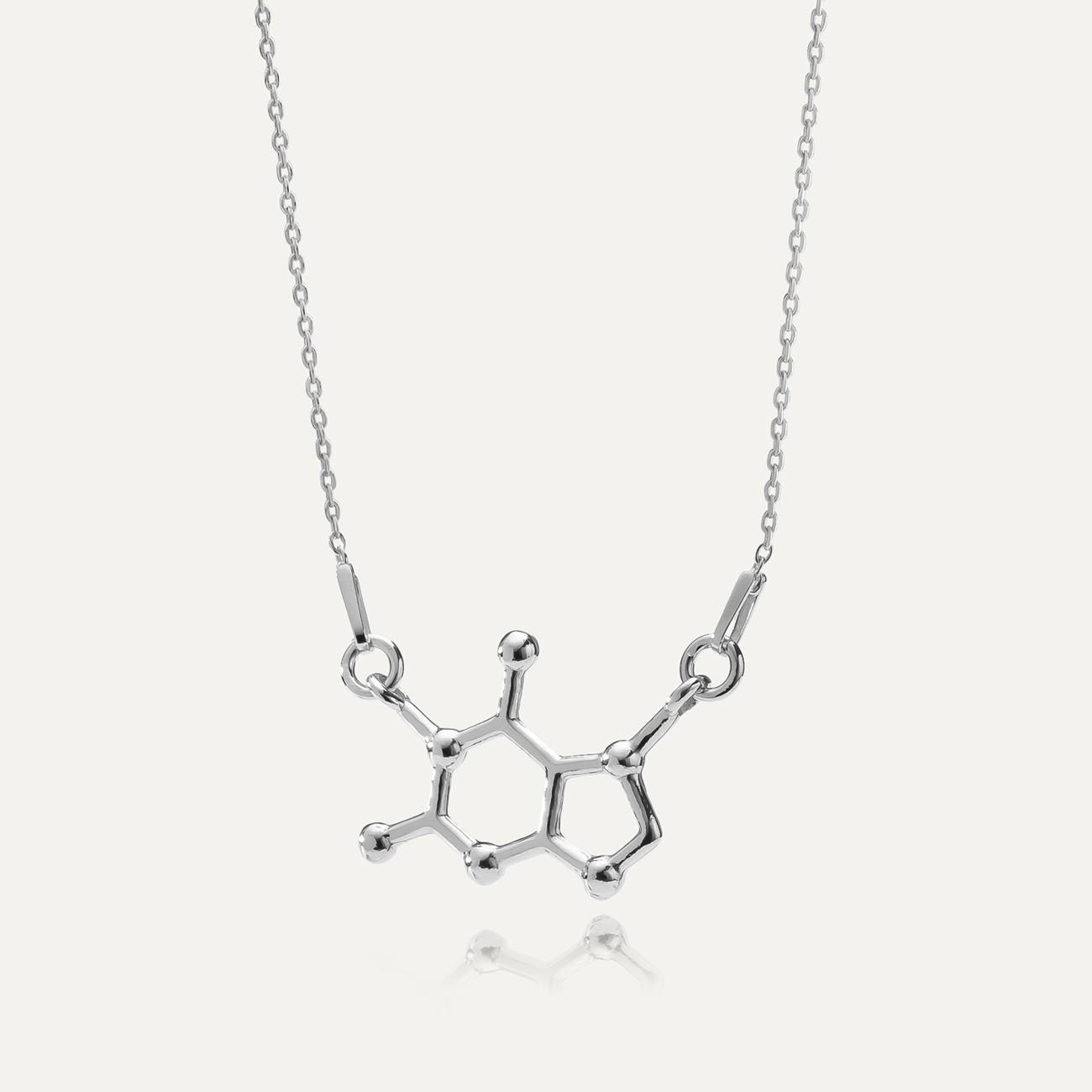 CZEKOLADA NASZYJNIK WZÓR CHEMICZNY