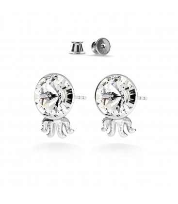 JELLYFISH EARRINGS SWAROVSKI RIVOLI