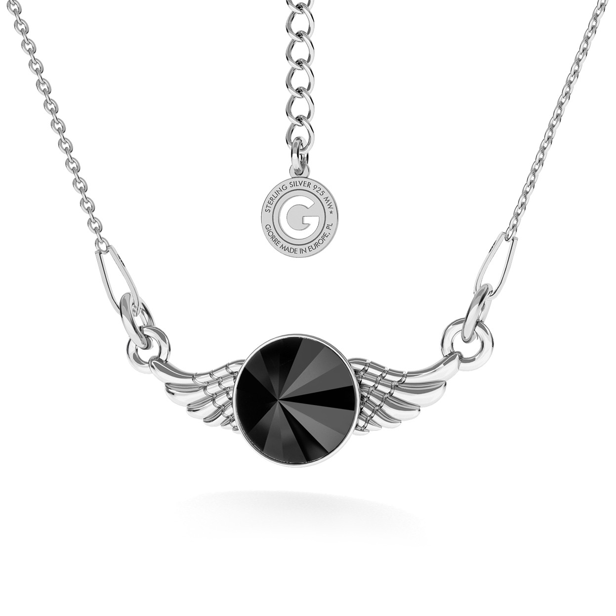 WINGS NECKLACE WITH SWAROVSKI RIVOLI