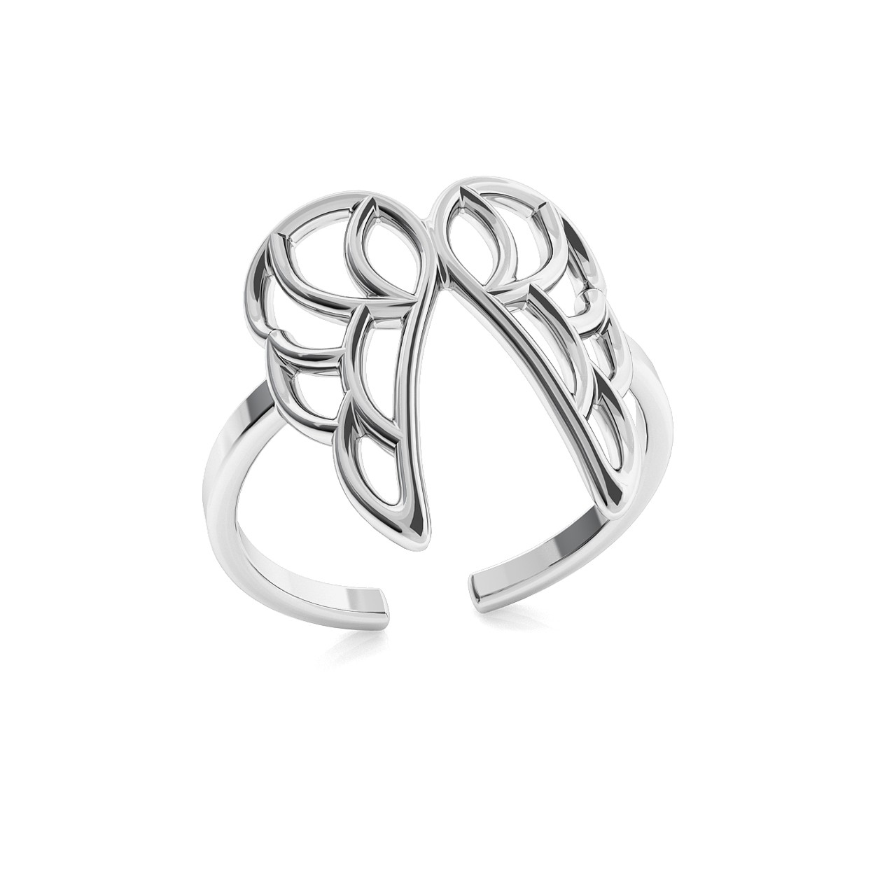HEART RING, SILVER 925