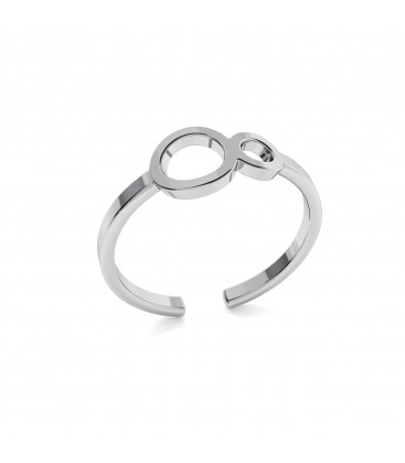 Infinity ring, silver 925