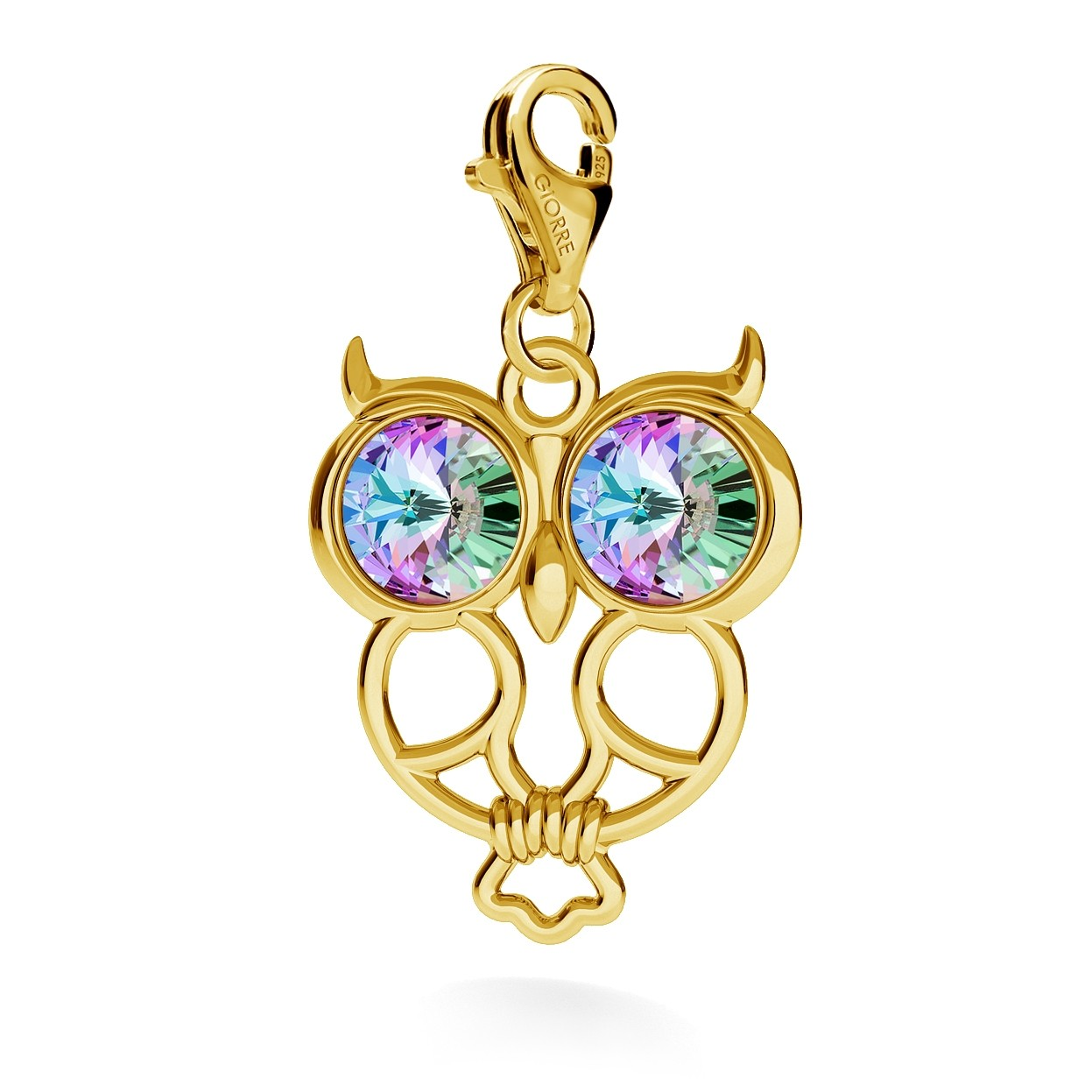 MONUMENT PENDANT WITH SWAROVSKI RIVOLI, CHARMS 273