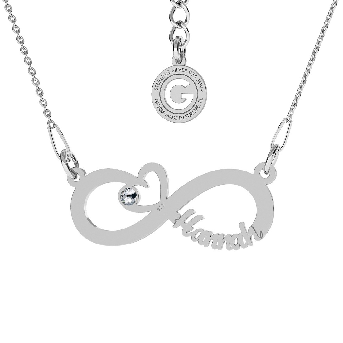 TREBLE CLEF NECKLACE STERLING SILVER 925