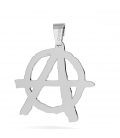 ANARCHY CHARMS PENDANT WITH ENGRAVING