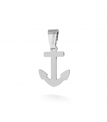 ANCHOR CHARMS PENDANT BEAD STERLING SILVER