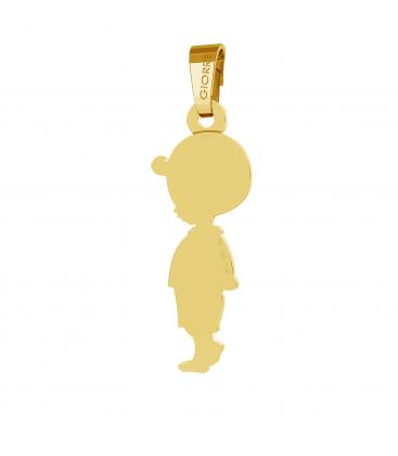 Oro colgante niño 585