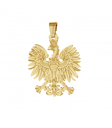 Eagle gold pendant 585
