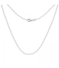 SILVER CHAIN ANCHOR CHOKER 925