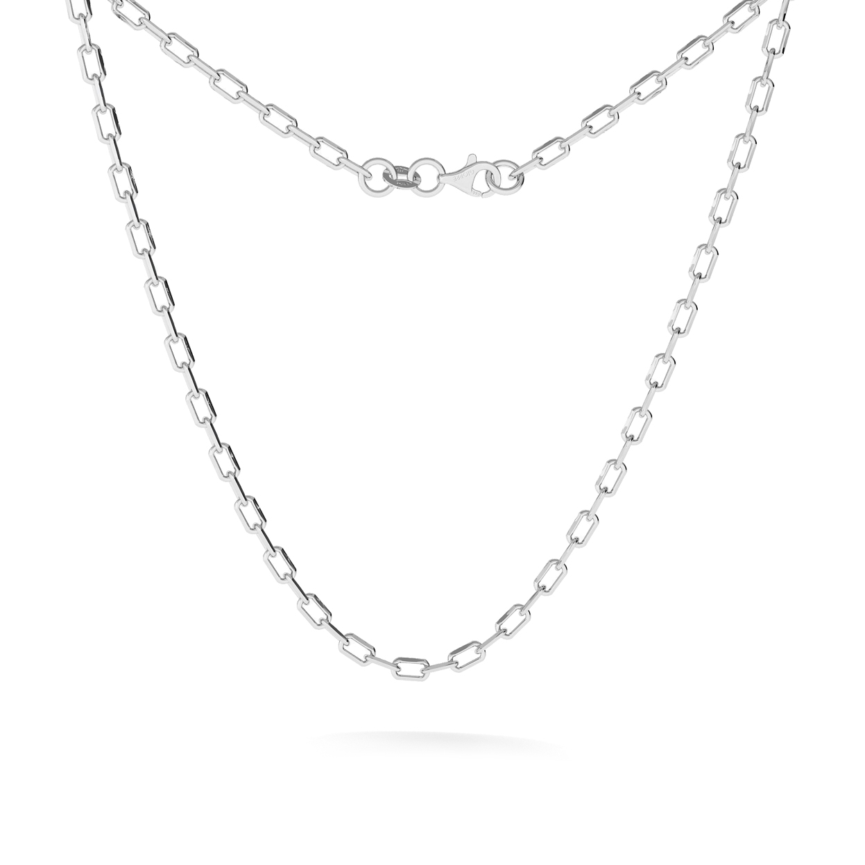 SILVER CHAIN NECKLACE STERLING SILVER 925