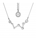 CONSTELLATION CASSIOPEIA NECKLACE SILVER 925