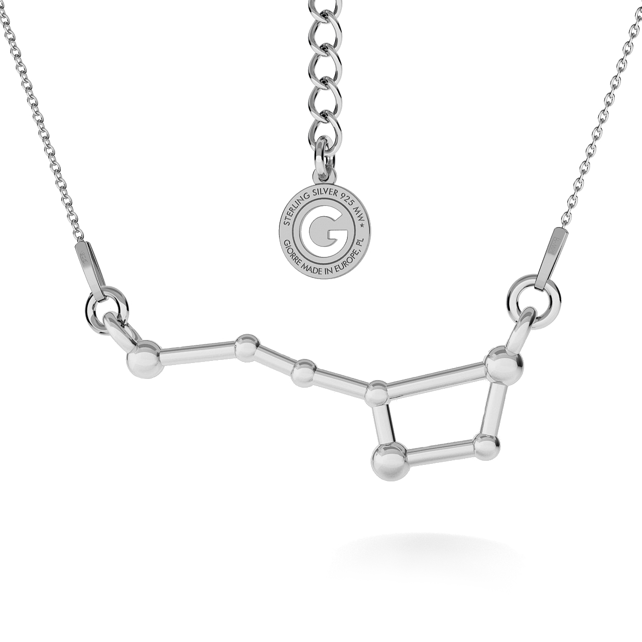 CONSTELLATION LYRA COLLIER ARGENT