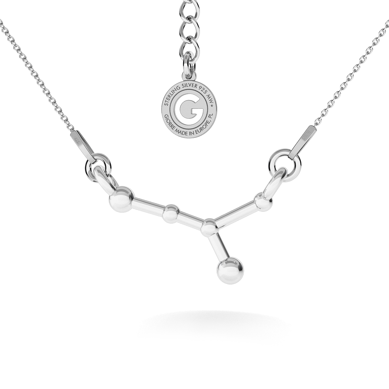 CONSTELLATION GROS OURS COLLIER ARGENT