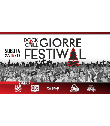 NOCLEG (pole namiotowe) + BILET na GIORRE Festiwal Rock & Grill 2019