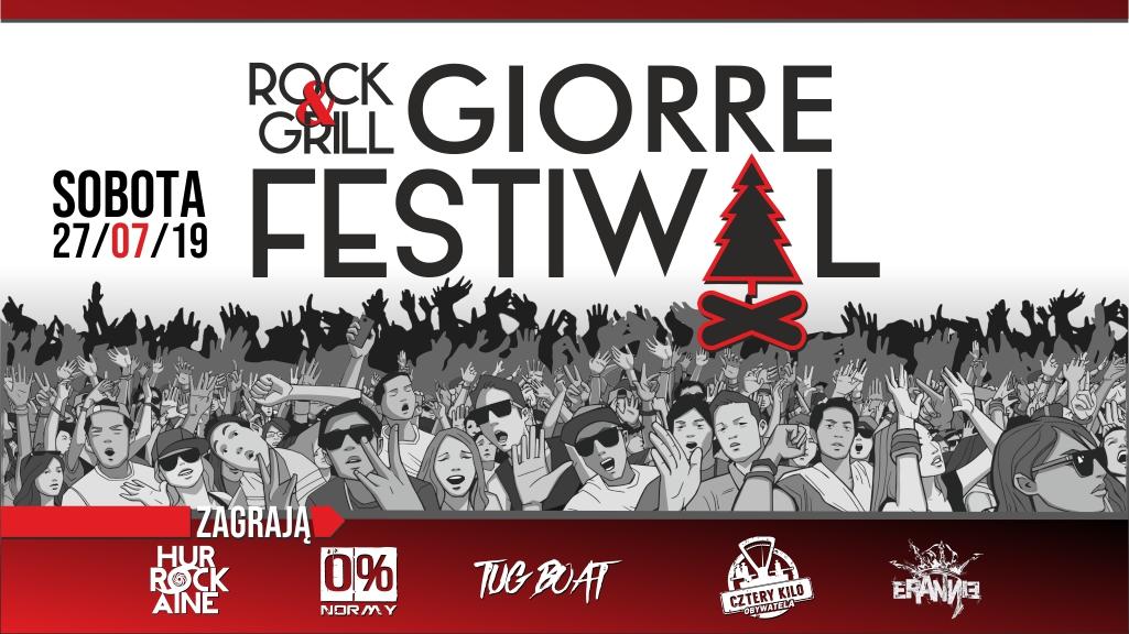 Bilet na GIORRE Festiwal - Rock & Grill w Ernestówce Vol. 3