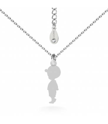 Boy necklace silver 925
