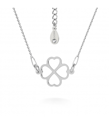 Clover necklace silver 925