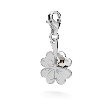 CHARMS 116, CLOVER WITH HEART