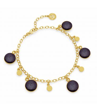 Bracelet avec résine argent 925
