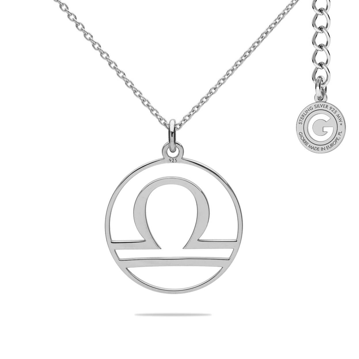 LIBRA ZODIAC SIGN NECKLACE SILVER 925