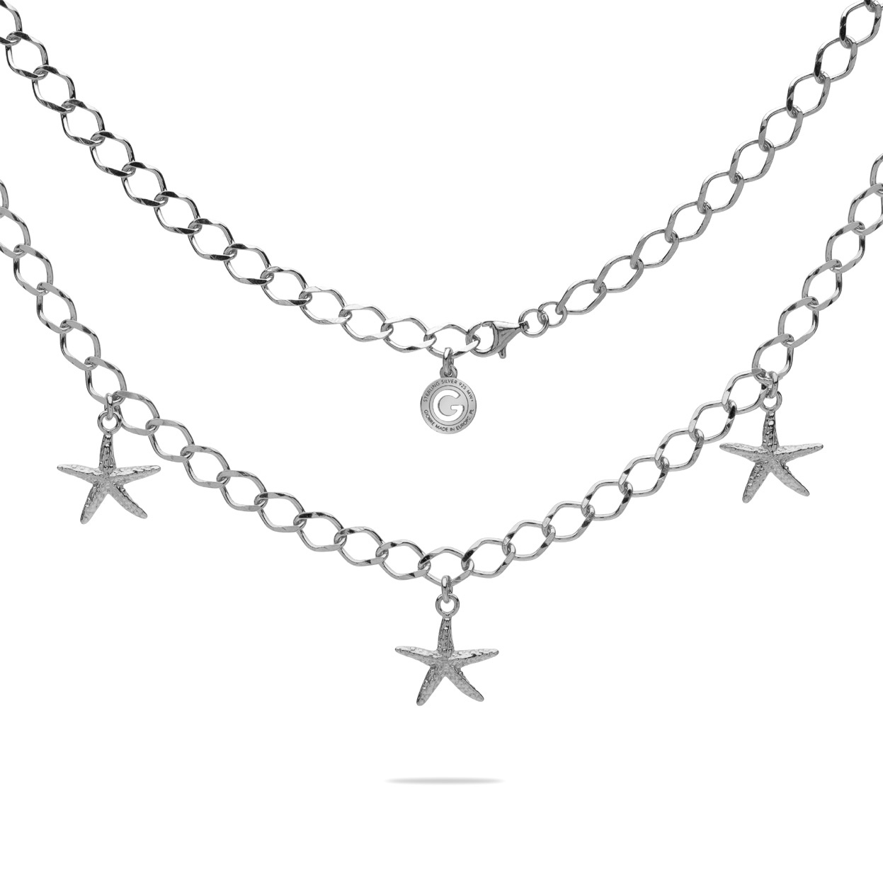 STARFISH NECKLACE SILVER 925