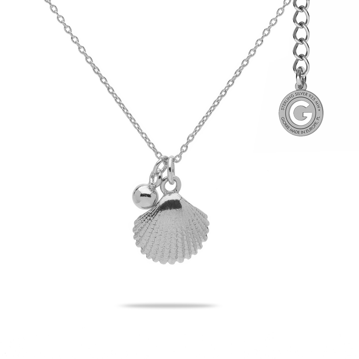 SHELL NECKLACE STERLING SILVER 925