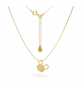 GOLD MOUSE NECKLACE 14K