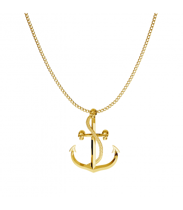 Anchor necklace 925