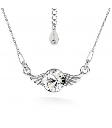 Angel wings necklace silver 925 - basic