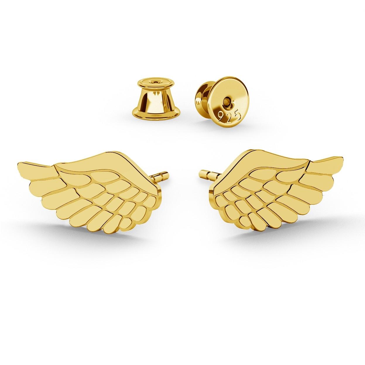 EARRINGS ANGEL WINGS - BASIC