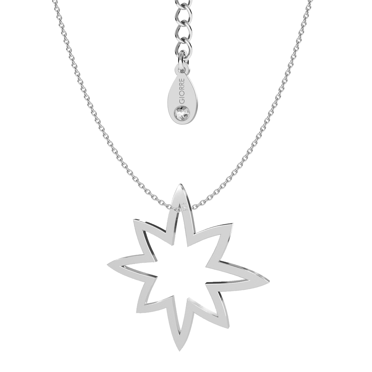 ETOILE COLLIER ARGENT STERLING 925