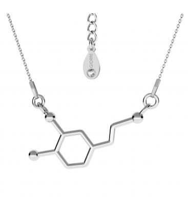 Dopamine necklace silver 925 - basic