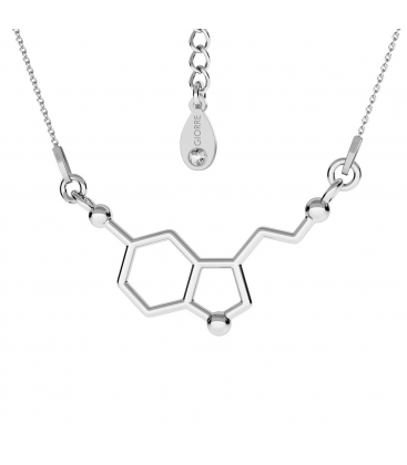Serotonine necklace silver 925 - basic