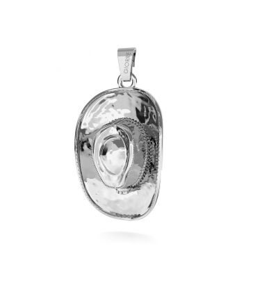 REVOLVER PENDANT CHARMS BEAD STERLING SILVER