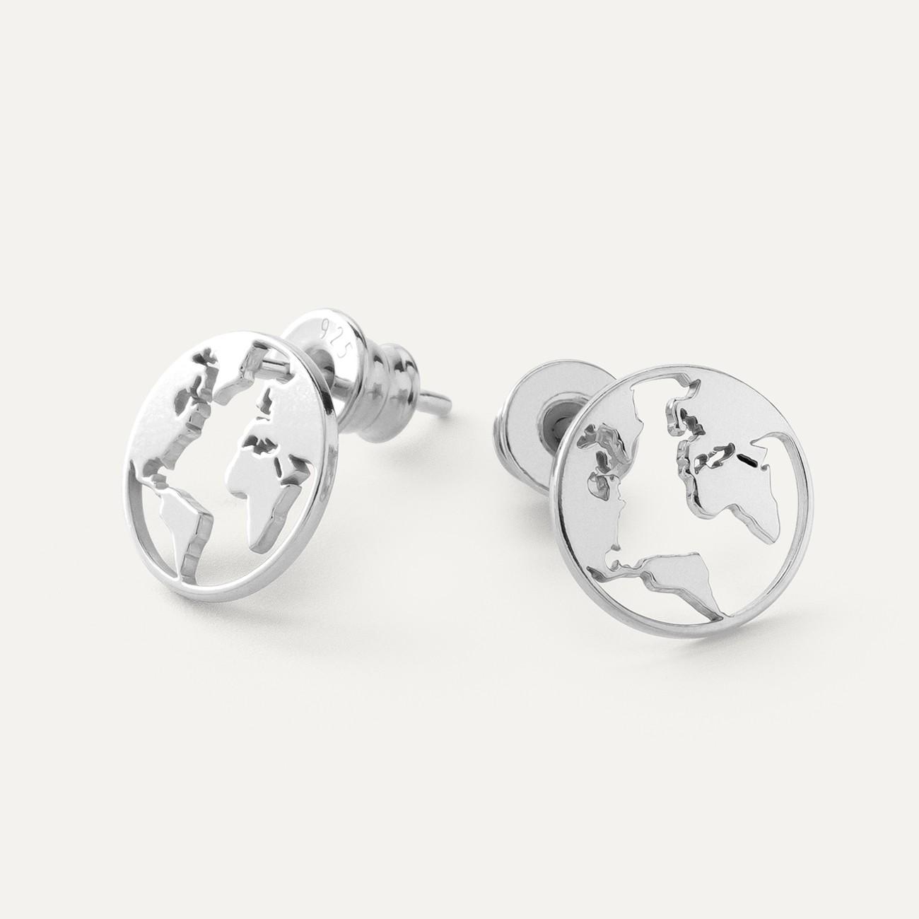Globo orecchini argento 925 Swarovski