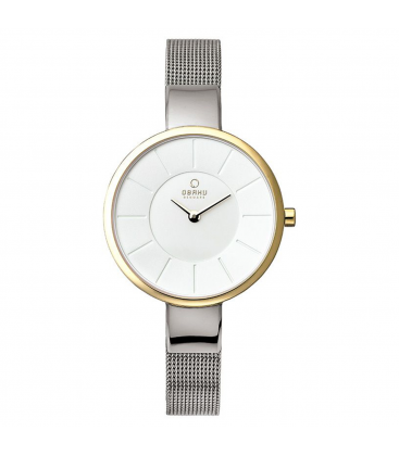 Zegarek Obaku V149LAIMC1 - grawer na stalowej kopercie