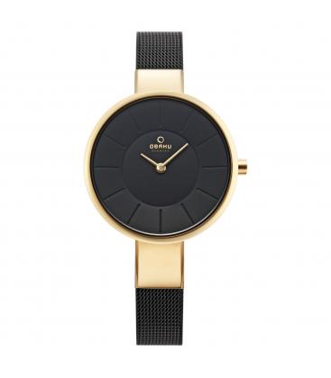 Zegarek Obaku V149LGBMB - grawer na stalowej kopercie