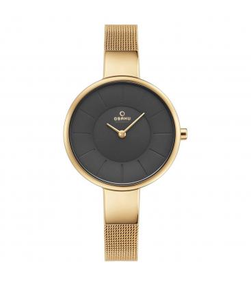 Zegarek Obaku V149LGJMG - grawer na stalowej kopercie
