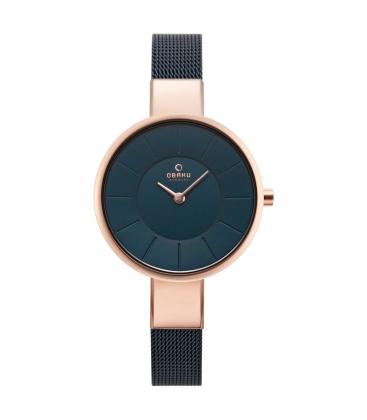 Zegarek Obaku V149LVLML - grawer na stalowej kopercie