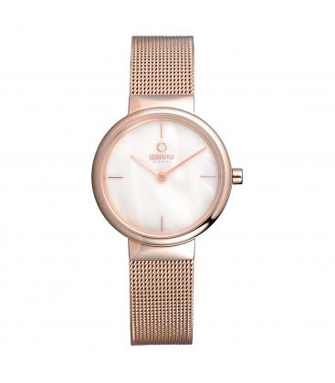 Zegarek Obaku V153LVWMV - grawer na stalowej kopercie