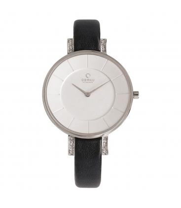 Zegarek Obaku V158LECIRB - grawer na stalowej kopercie