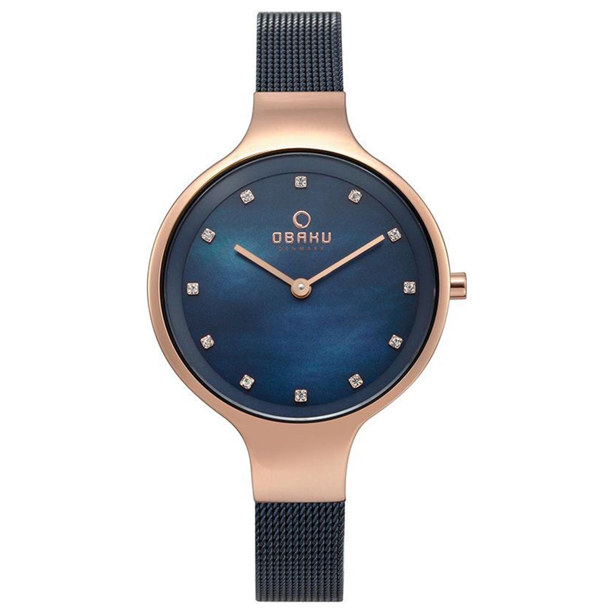 Zegarek Obaku V173LXVLML - grawer na stalowej kopercie