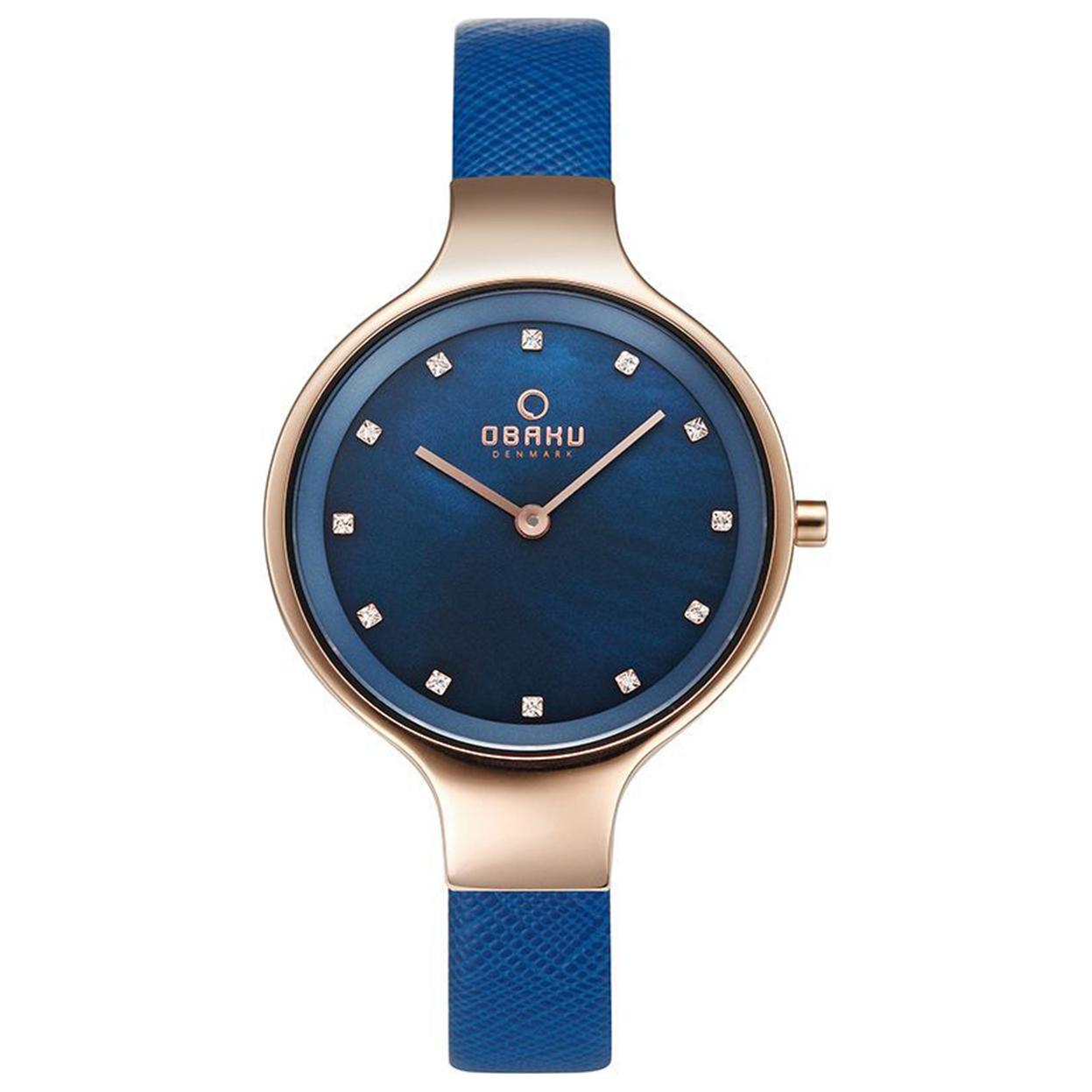 Zegarek Obaku V173LXVLRA - grawer na stalowej kopercie