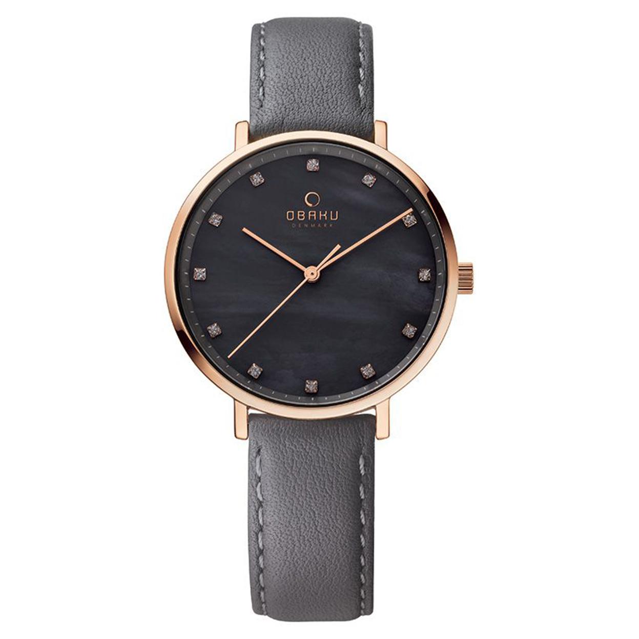 Zegarek Obaku V186LXVJRJ - grawer na stalowej kopercie