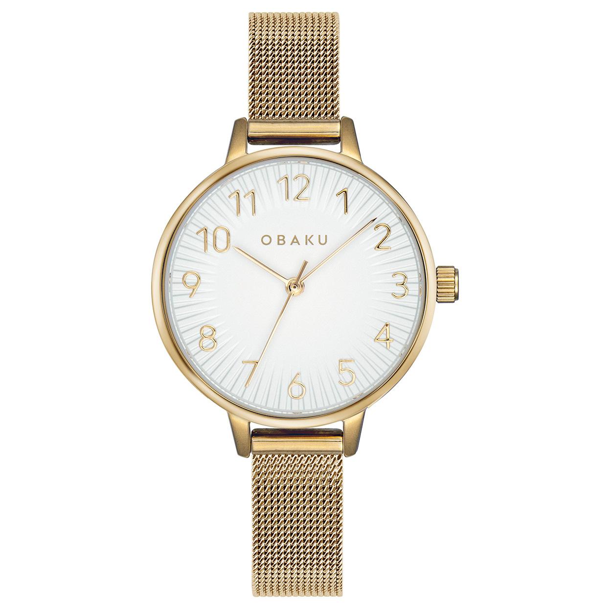 Zegarek Obaku V237LXGIMG - grawer na stalowej kopercie